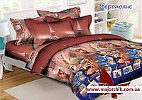 Комплект постельного белья Зверополис 1,5 спальный комплект 150х220