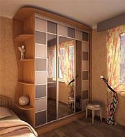 шкаф купе в спальню с зеркалом фото 80