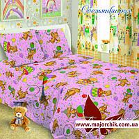 Комплект постельного белья обезьянки 1,5 спальный комплект 150х220 monkey