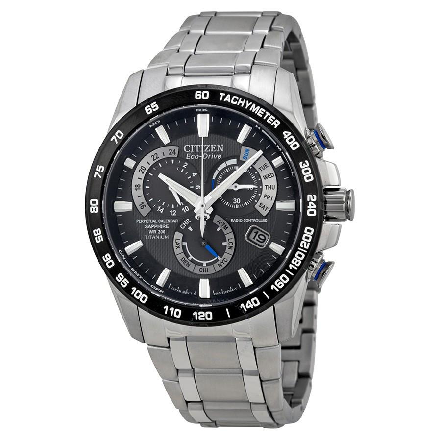 Часы Citizen Eco-Drive Sapphire AT4010-50E Titanium Е650