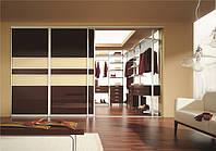 гардеробная комната с раздвижными дверями фото 82