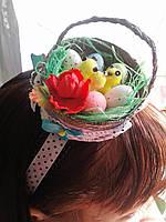 Подарок на Пасху   -пасхальный обруч на голову - Пасхальные подарки и украшения