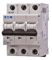 Автоматический выключатель PL6 3п 40А С 6кА Eaton