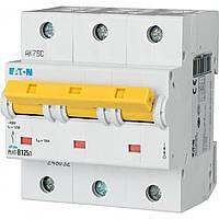 Автоматический выключатель PLHT 3п 80А С Eaton