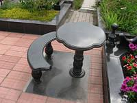 Столы лавки из гранита любой формы и размера №0004