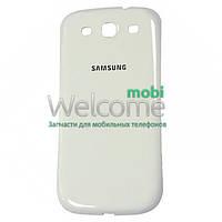 Задняя крышка Samsung i9300 Galaxy S3 white orig, сменная панель