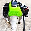 Бензокоса NVP NV3400, 3.4 кВт, 43 куб.см, два ножа и катушка, бензокосарка, коса, фото 4