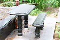Столы лавки из гранита любой формы и размера №0027
