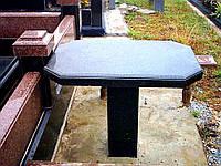 Столы лавки из гранита любой формы и размера №0042