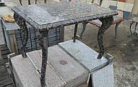 Столы лавки из гранита любой формы и размера №0045