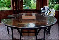 Столы лавки из гранита любой формы и размера №0046