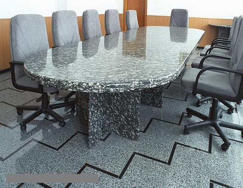 Столы лавки из гранита любой формы и размера №0047