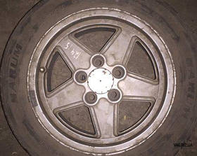 Диск легкосплавный Mercedes C-Klasse W201 (190) 1982-1993, E-Klasse W124 1985-1996