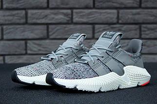 "Мужские кроссовки в стиле Adidas Prophere ""Grey/White"", фото 3"