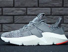 "Мужские кроссовки в стиле Adidas Prophere ""Grey/White"", фото 2"