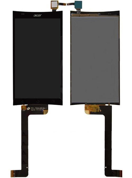 Дисплей (LCD) Acer E700 Liquid с сенсором чёрный