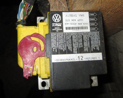 Блок управления подушками безопасности Volkswagen Passat B6 2005-2010