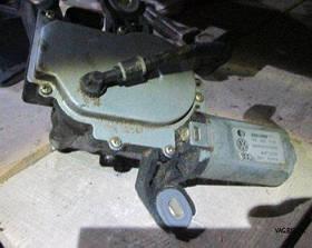 Электродвигатель (моторчик) заднего стеклоочистителя Volkswagen Golf 5 2004-2009, Passat B6 2005-2010, Golf 5+ 2005 - 2009