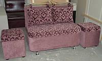 Кухонный диванчик с подушками, диван для балкона, лоджии