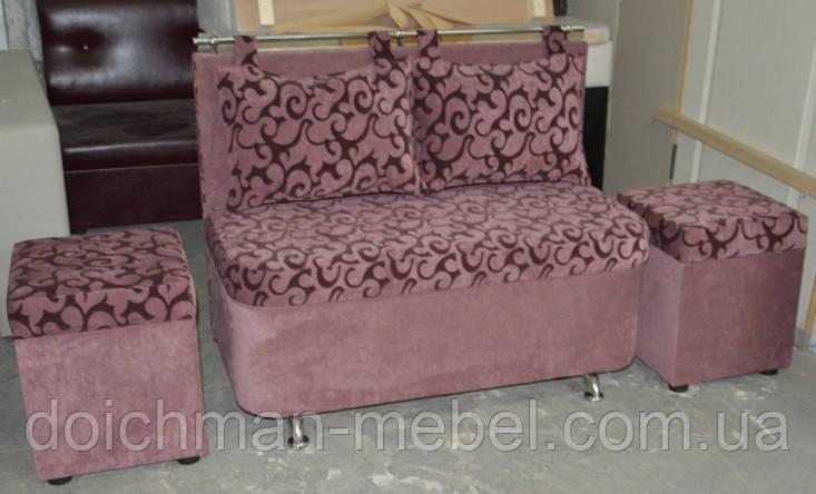Кухонный диванчик с подушками, диван для балкона, лоджии  - Производитель мебели DOICHMAN furniture (Дойчман мебель), филиал мебельной фирмы Польша в Киеве