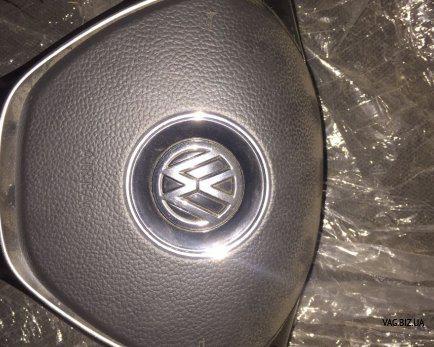 Подушка безопасности в руле Volkswagen Golf 7 с 2014