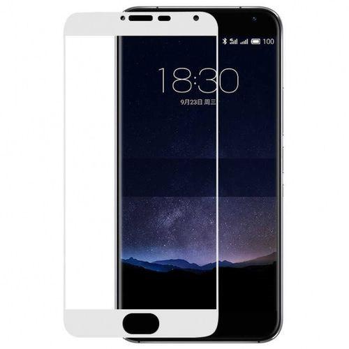 Стекло экрана Meizu Pro 5 белое