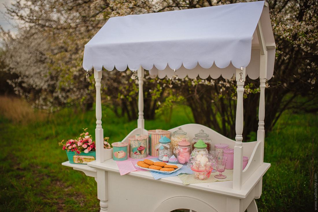 Аренда Candy Bar Тележка Candy Buffet