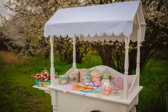 Аренда Candy Bar Тележка Candy Buffet