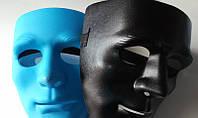 Пластмасовая маска для карнавала