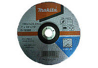 Диск відрізн. Makita 180х3,0х22мм 30S метал округ. D-18580
