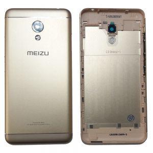 Задняя крышка Meizu M3s (Y685)/ M3s mini золотая