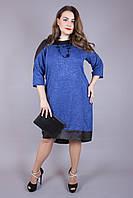 Платье большого размера Ангора Люрекс, платья большого размера недорого, платье для полных, дропшиппинг