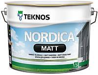 Краска для деревянных фасадов Nordica Matt Teknos