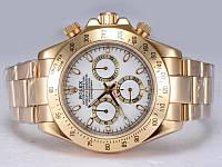 Наручные часы Rolex Daytona Gold White