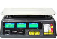 Весы торговые CRYSTAL 50KG ACS-208