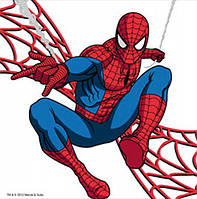 Картина раскраска 1 Вересня Человек-Паук (950974) 25 х 25 см
