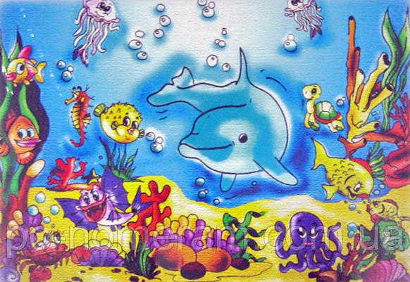 картина раскраска подводный мир 7115 25 х 35 см купить киев на Po Nomeram