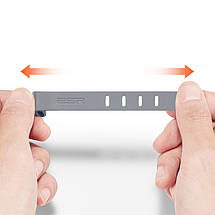 Стяжка для кабеля ESR резиновая (Серая), фото 2