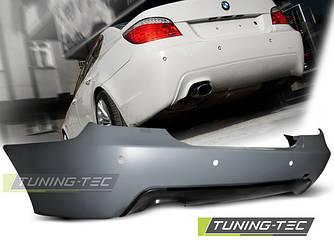 Задний бампер тюнинг обвес BMW E60 стиль M Sport Paket до рестайл