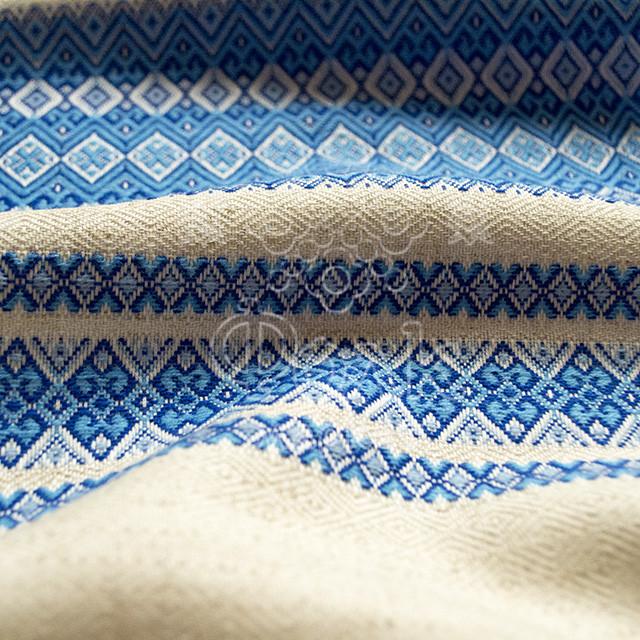 Тканина для вишиванок з українським орнаментом Рандеву
