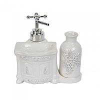 """Керамический набор для ванной """"Original"""" YX7093 14*15*11 см"""