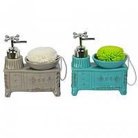 """Набор для ванной """"Washbasin"""" YX5082  15*14*7 см."""