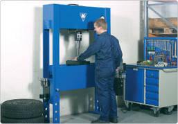 Ручной гидравлический пресс, AC Hydraulic, P100H, фото 2
