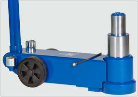 Домкрат пневмогидравлический подкатной, 50/25 т, AC Hydraulic, 50-2, фото 3