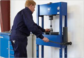 Гидравлический ручной пресс 16 т,  AC Hydraulic, PJ16H, фото 3
