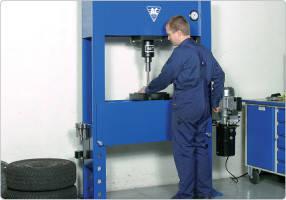 Электрогидравлический пресс 40 т, AC Hydraulic, P40EH1, фото 2