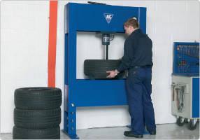 Гидравлический ручной пресс 40 т,  AC Hydraulic, P40H, фото 2