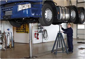 Подставка под автомобиль 8 т, AC Hydraulic, ABS8-1400, фото 2