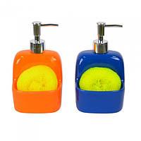 """Дозатор для жидкого мыла """"Bright mood"""" YX5838  19*10 см."""