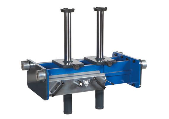 Ямный подъемник пневмогидравлический 10 т, AC Hydraulic, GD100-2